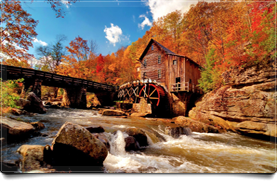Fall Watermill
